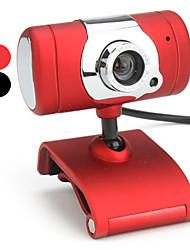 10 megapixel t-stile usb 2.0 webcam con microfono (colori assortiti)