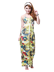 Reich Halfter Polyester Maxi-Kleid