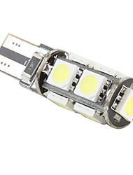 Светодиодные лампы, белый свет, T10 9 SMD LED Whitе