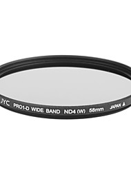Genuine JYC Super Slim High Performance Wide Band ND4 Filter 58mm