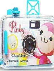 Pinky Monkey Reloadable Underwater Film Wedding Camera
