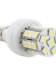 E14 Ampoules Maïs LED T 27 SMD 5050 300 lm Blanc Naturel AC 100-240 V