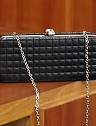 Argyle Chain Box Design Satchel(20cm*5.2cm*9.2cm)