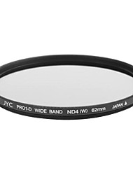 Genuine JYC Super Slim High Performance Wide Band ND4 Filter 62mm