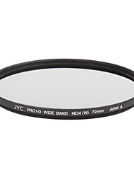 Genuine JYC Super Slim High Performance Wide Band ND4 Filter 72mm