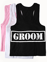 """GROOM"" Vest (More Colors)"