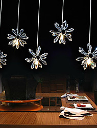 Crystal Pendant Light with 5 Lights