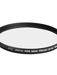 véritable JYC super mince multicouche haute performance numérique filtre UV 58mm