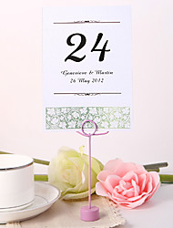 Personalized Table Number Card - Spring Idea