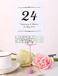 personnalisé numéro de carte de table - idée printemps