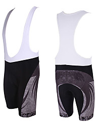 Kooplus Fahrradträgerhosen Herrn Fahhrad Atmungsaktiv Rasche Trocknung Bib - Shorts/Kurze radhose MIT Trägern Shorts/Laufshorts Unten