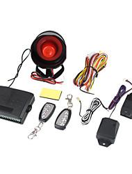 segurança do veículo auto sistema de alarme 2 controles remotos
