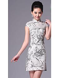 estilo vintage chino cheongsam ropa