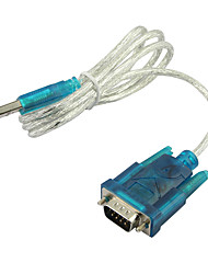 USB zu RS232 seriell DB9 9-Pin-Kabel-Adapter PDA & GPS