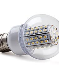 5W E26/E27 Lampadine globo LED G60 66 SMD 3528 430 lm Bianco caldo AC 220-240 V
