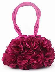 linda flor de seda crianças pacote bolsas, flores,