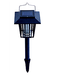 Solar Powered Mosquito Repellant Bug Zapper Pest Killer Garden Stake LED Lamp