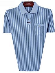 полосы рубашка для мужчин среднего возраста