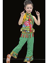 традиционный китайский стиль выполнения жилет + брюки