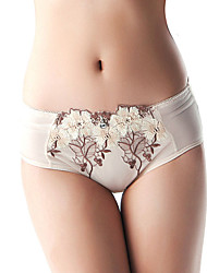 Fashion Peony Embroidered Underpant