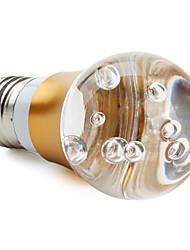 Lâmpada Redonda E26/E27 3 W LM K RGB/Muda de Cor 2 LED Dip AC 85-265 V A