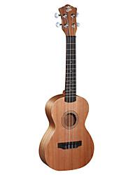 ella - (pt-2818) ukulele concerto de mogno