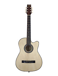 "Blitz - (WFC11) 38"" Plywood Linden Mini Jumbo Acoustic Guitar"