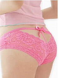 Women's Lace Backside Sexy Panty(Waist:52-90cm)
