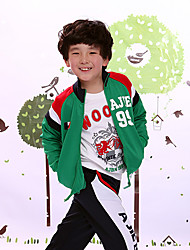Boys Sport Jacket with Collar and Zipper