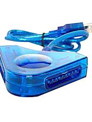 Dual PSX zu USB Controller Adapter Konverter für PC PS2