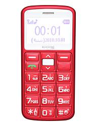 l100 - sola tarjeta de 1.3 pulgadas tipo de letra grande teléfono de barra senior (fm mp3)