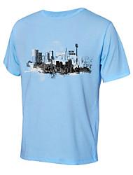 Earth Travel Ultraviolet Resistant Short Sleeve T-shirt