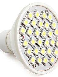 GU10 W 30 SMD 5050 300 LM Natural White MR16 Spot Lights V