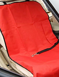 wasserdicht Autositzunterlage für Haustiere (110 x 55 cm, farbig sortiert)