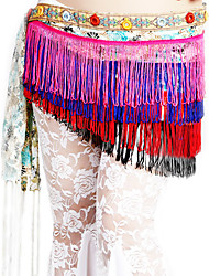 Dancewear Polyester Performance Belly Dance Belt For Ladies More Colors