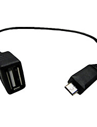 Micro USB to USB 2.0 Adapter for I9100 (Male to Female)
