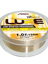 150M / 165 Yards / 300M / 330 Yards Monofilament Fishing Line Gold 5LB / 6LB / 8LB / 10LB / 12LB / 16LB / 20LB / 7LB
