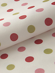 "TWOPAGES® Country Polka Dots Poly/Cotton Blend Print Fabric Width=110"" (280 cm)"