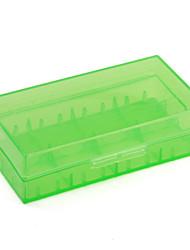 caja de plástico para el 18650 de la batería