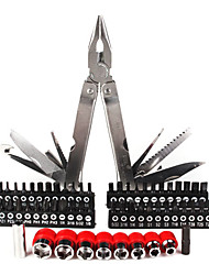 conjunto de herramientas multifunción (destornilladores o alicates y otras personas)