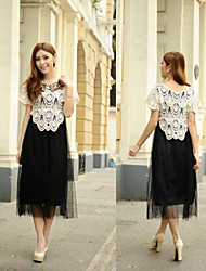 Attractive Woman Party Dress