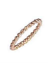 Gorgeous 18K Gold Plated Circle Shape Fashion Ring