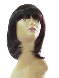 High Quality Synthetic Medium Long Straight African American Wig