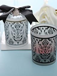 tradições damasco vidro fosco titular da luz do chá