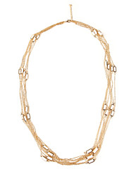 Women's Alloy Necklace Anniversary/Gift/Party Jade