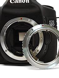 Olympus OM Objektiv auf Canon EOS EF Mount-Adapter mit elektronischen / Fokus unendlich 600d