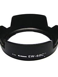 EW-60C ew60c parasol flor de la corona para Canon EF-500d/550d/600d s 18-55mm