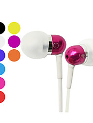 Kanen Classic Stereo In-Ear Earphone with Mic for iPhone (Assorted Colors)