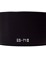 Bayonet Mount Lens Hood Replacement ES-71 II for EF 50/1.4 USM 50mm f1.4