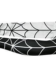 KOOPLUS Men's Sport Arm Warmers Quick Dry White / Black S / M / L / XL / XXL / XXXL Cycling